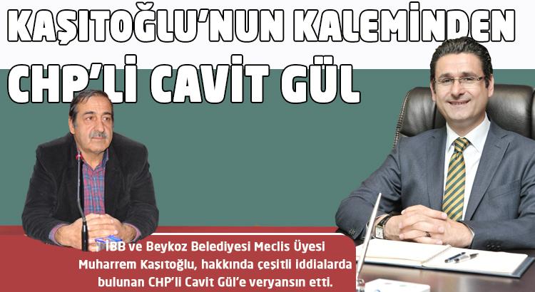 Kaşıtoğlu'nun kaleminden CHP'li Cavit Gül