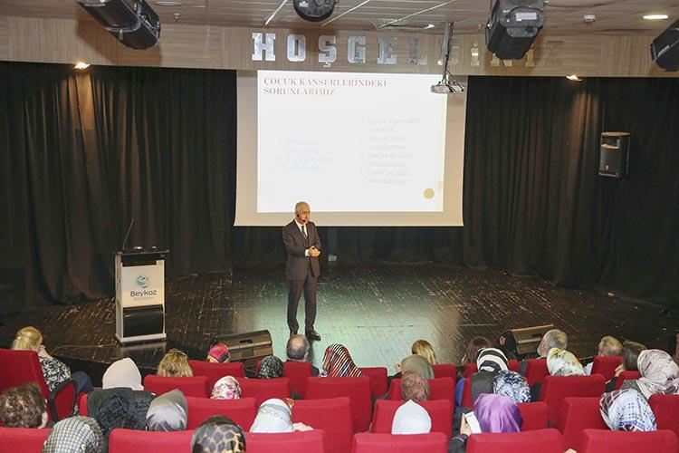 Beykoz'da 14 Mart'ta Kanser konuşuldu