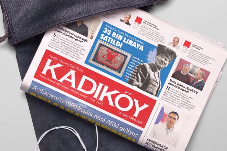 Kadıköy'e yepyeni bir gazete!