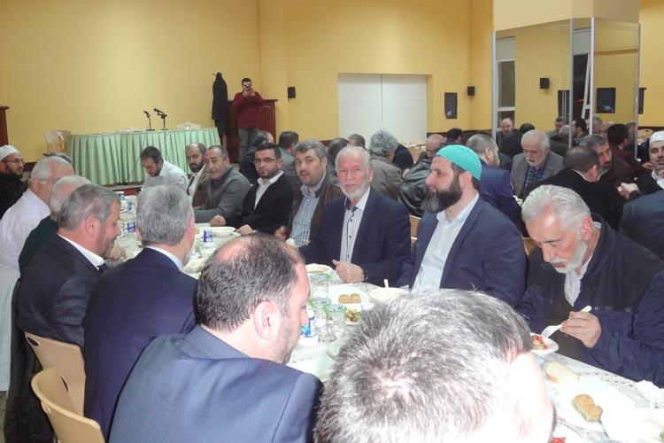 Erzurumlu din adamları Beykoz'da bir araya geldi