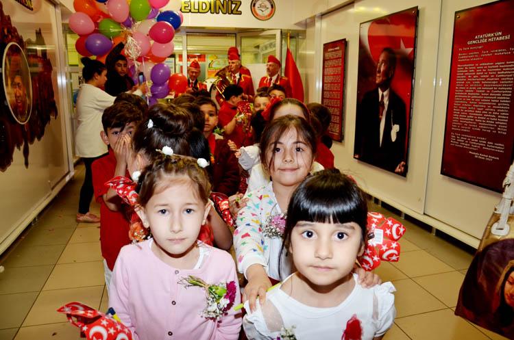 Beykoz'da minik öğrenciler coştu coşturdu
