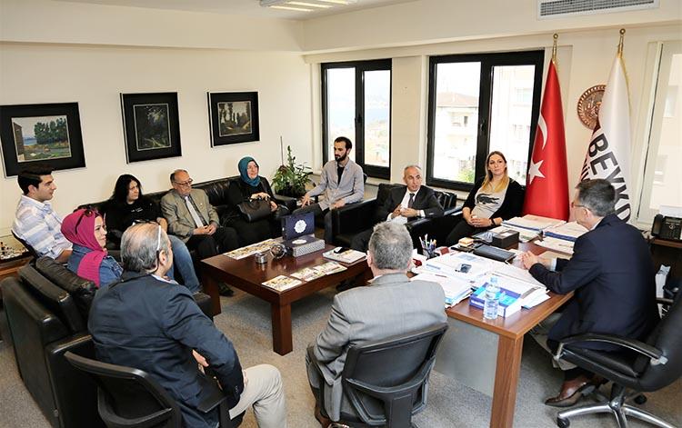 Kent Konseyi, Beykoz Üniversitesi'ni ziyaret etti