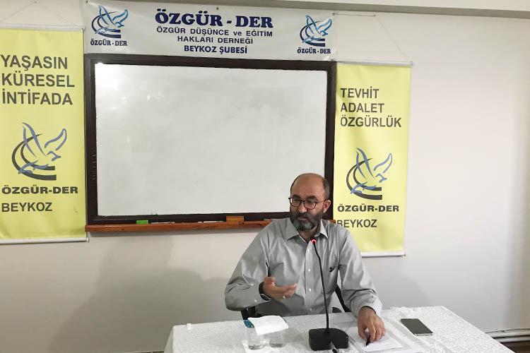 Beykoz'da Özgür-Der'in aylık semineri yapıldı