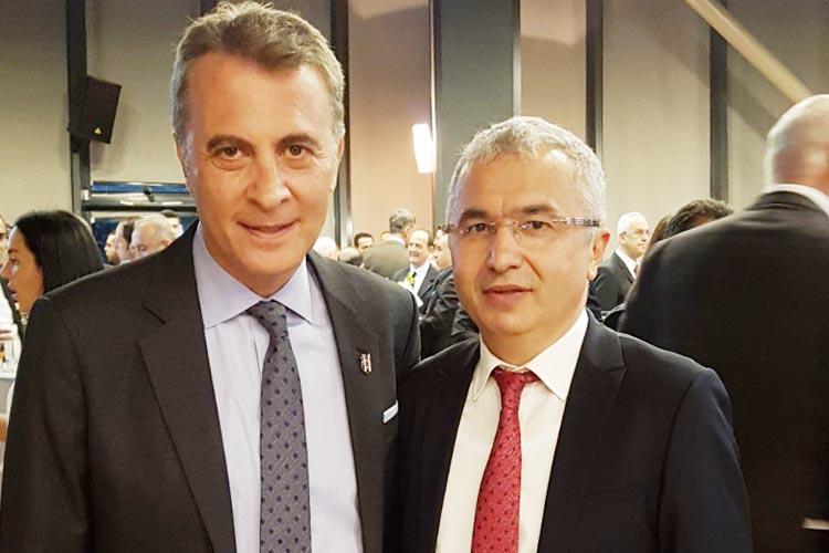 Salim Öztürk, Fikret Orman'la hentbolu konuştu