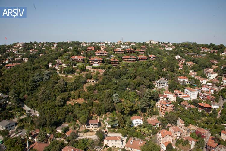 Ünlülerin Beykoz'daki evleri dudak uçuklatıyor