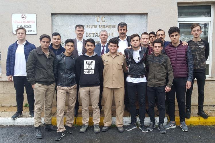 Beykoz'da lise öğrencileri bakın ne yaptı?