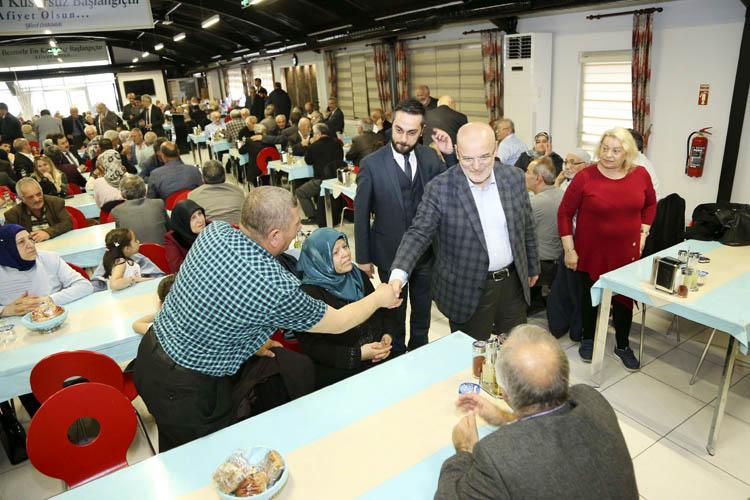 Beykoz'da emekli personele vefa geleneği sürüyor