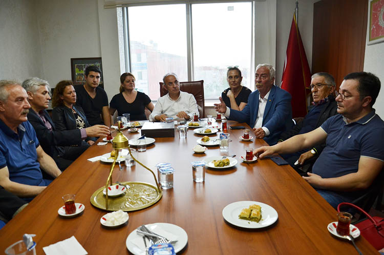 CHP Beykoz'dan Karadenizlilere ziyaret