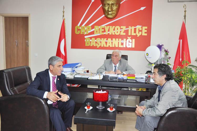CHP'li Milletvekili adayı, Beykoz'da konuştu