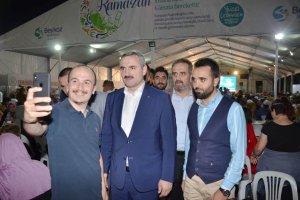 Beykoz'da son halk sahuruna Bayram Şenocak katıldı