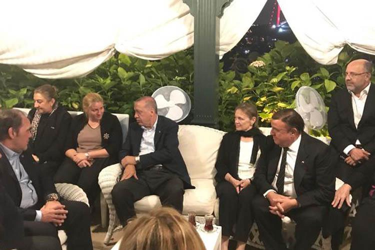 Erdoğan'dan Beykoz'a gece yarısı ziyaret