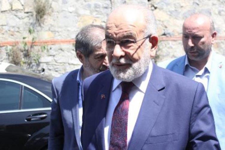 Karamollaoğlu Beykoz'da Demirören ailesini ziyaret etti