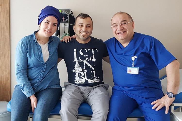 Kalp ameliyatı için ABD'den Beykoz'a geldi