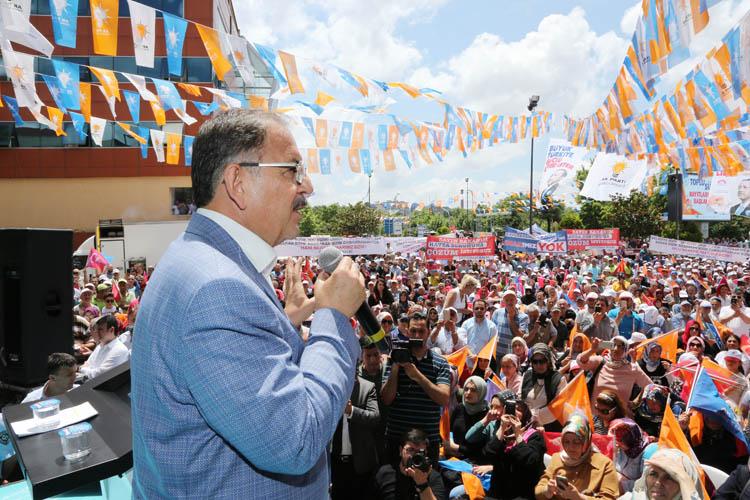 Çevre ve Şehircilik Bakanı, Beykoz'u rahatlattı