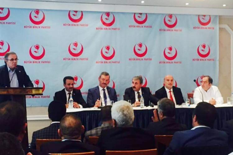 BBP'li Melih Perçin'den 24 Haziran açıklaması