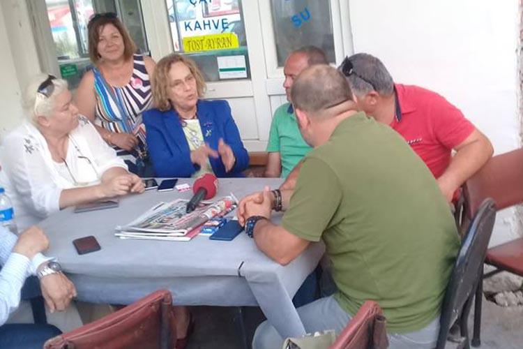 Vatan Partisi'nden Beykoz Anadolufeneri'ne ziyaret