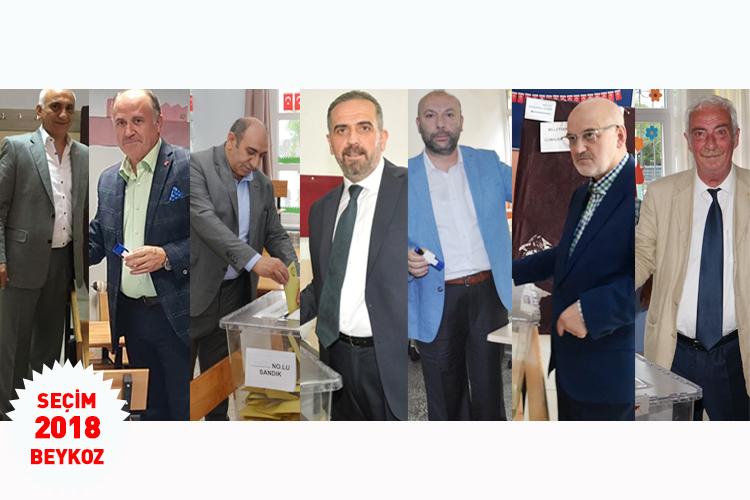 Beykoz'da Seçim 2018… Kim nerede oy kullandı?