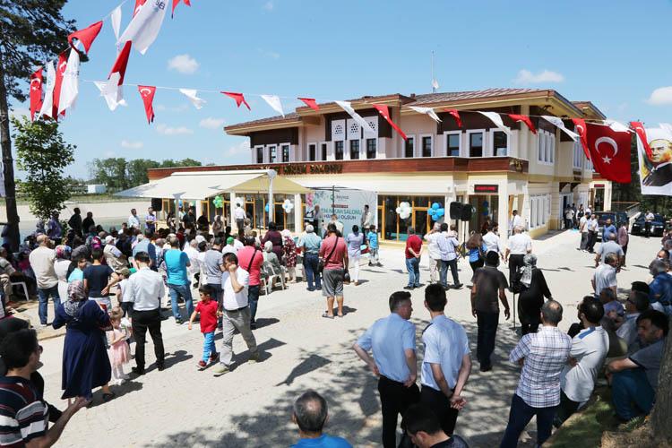 Beykoz Belediyesi nikah salonu törenle hizmete açıldı