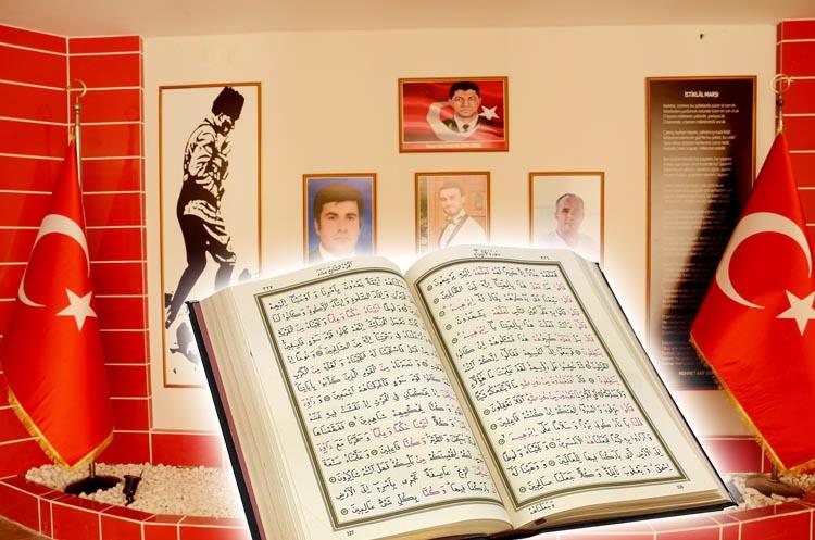 Beykoz'da 15 Temmuz Şehitleri için Kuran ziyafeti