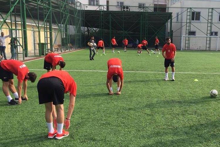 Soğuksuspor'da yeni sezon idmanları başladı