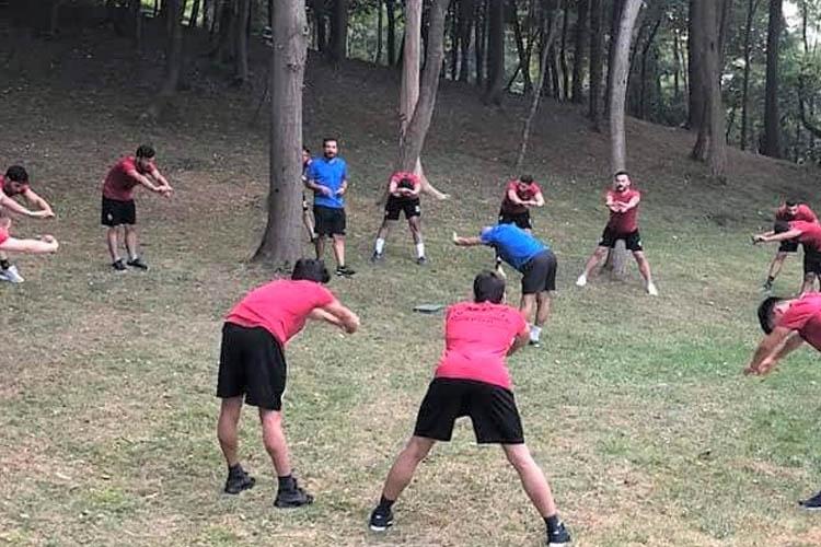 Gümüşsuyuspor, yeni sezon hazırlıklarına başladı