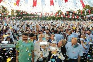 Tarihi Beykoz Çayırı'nda geleneksel sünnet coşkusu