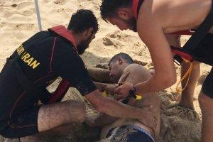 Beykoz Riva'da iki kişi son anda kurtarıldı