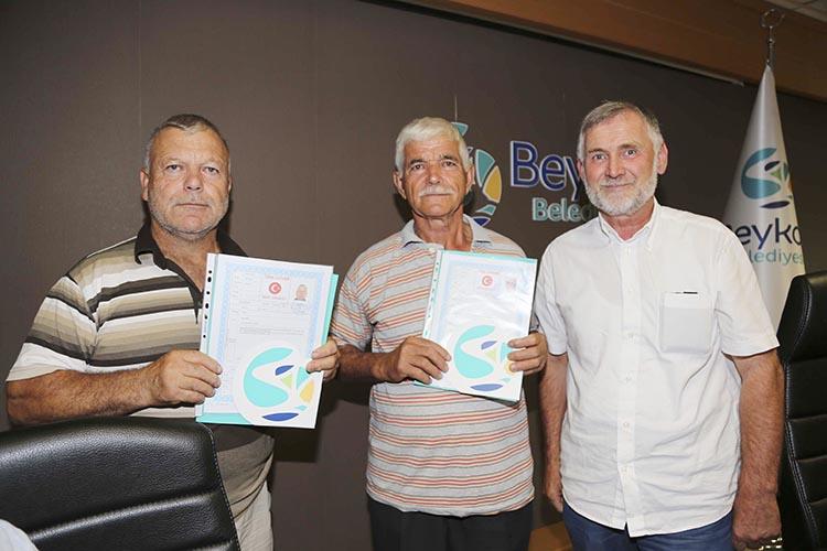 Beykoz'da son 6 ayda 2 bin kişiye tapu verildi