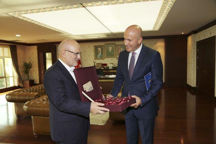 Beykoz Emniyet Müdürü Güleç'ten Başkan'a ziyaret