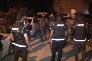 Beykoz'da sekiz kişi gözaltına alındı