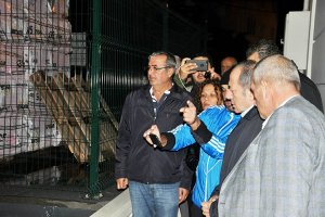 Hamzaçebi, sel mağduru Beykoz'u ziyaret etti