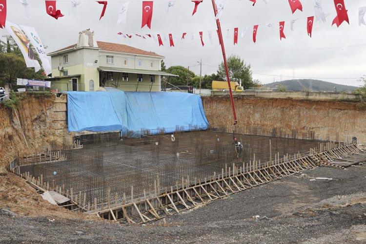 Beykoz Baklacı Mahallesi'ne yeni külliye ve cami