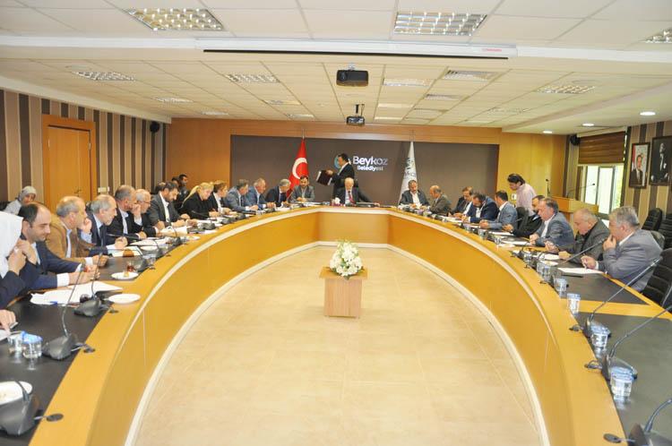 Beykoz'da yeni bütçe hazırlıkları başladı
