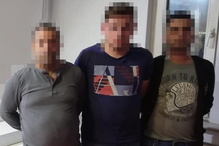 Beykoz'daki kombi hırsızları yakalandı