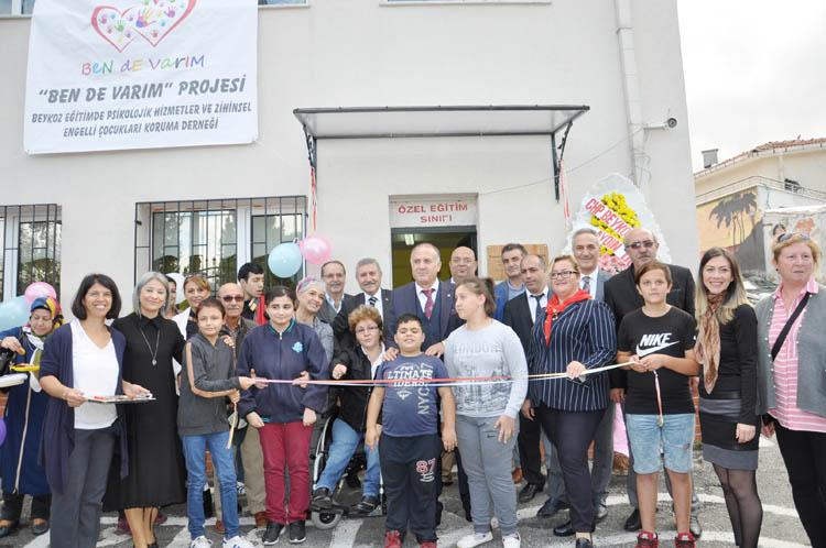 Beykoz Paşabahçe'de özel eğitim sınıfı açıldı