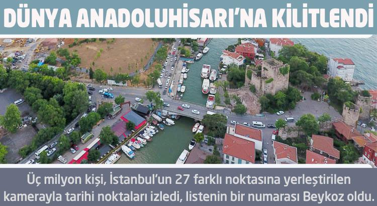 Dünya Beykoz Anadoluhisarı'na kilitlendi