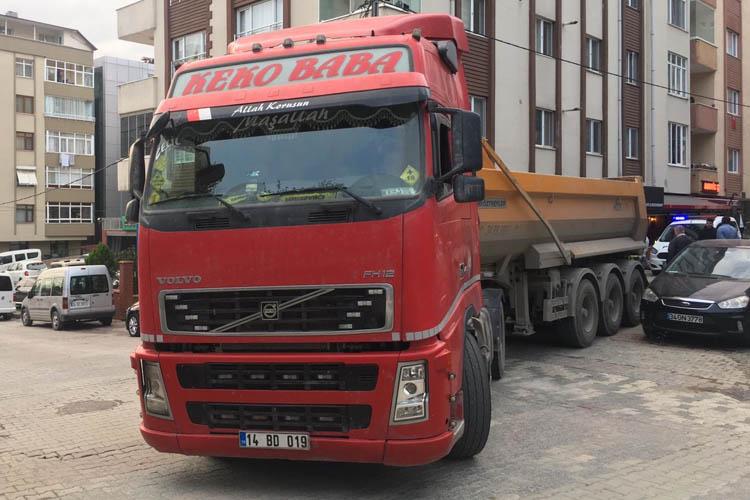 Beykoz Kavacık'ta hafriyat kamyonu terörü
