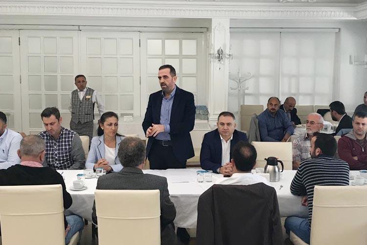 Başkan Dilmaç Beykoz'un amatör kulüplerini ağırladı