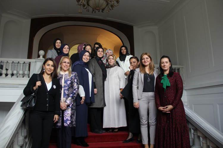 Belediye Başkanlarının eşleri Beykoz'da toplandı