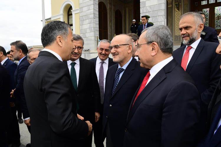 Beykoz Belediye Başkanı'ndan Yerlikaya'ya ziyaret