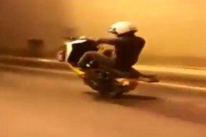 Beykoz'da motosikletli maganda dehşeti
