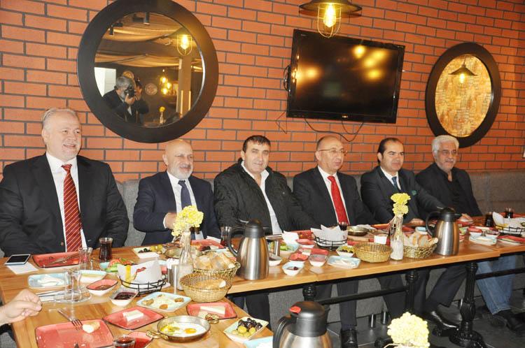 KAS-DER Genel Başkanı, gazetecilerle buluştu