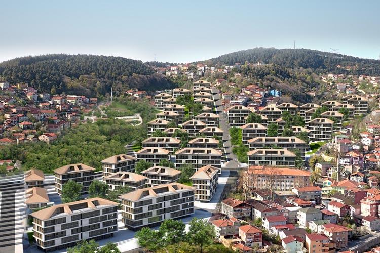 Beykoz Tokatköy Şehr-i Sitare Projesi'ne ilk onay