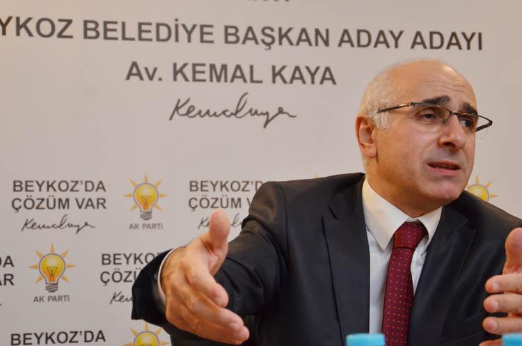 Kemal Kaya, Beykoz basınına açıklamalar yaptı