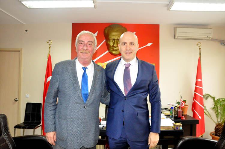 Beykoz Emniyet Müdürü'nden CHP'ye ziyaret