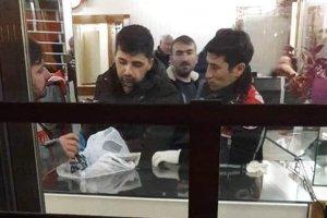 Beykoz Paşabahçe'de kuyumcu hırsız çatışması