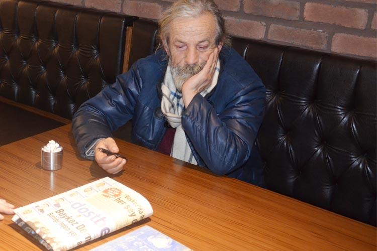 Genco Mert, hem sanatını hem Beykoz'u anlattı