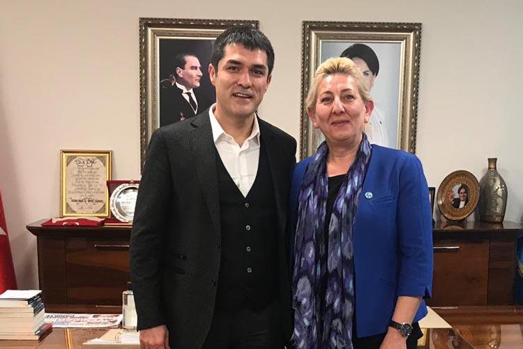 Kıraç, Beykoz İYİ Parti'den aday adayı oldu