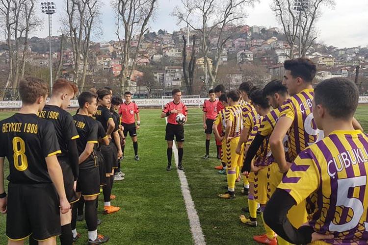Beykoz'un iki U17 ekibinde galip Çubukluspor