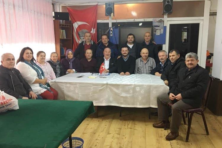 Yukarı Boğalı Köyü Derneği, Beykoz'da Kongre yaptı
